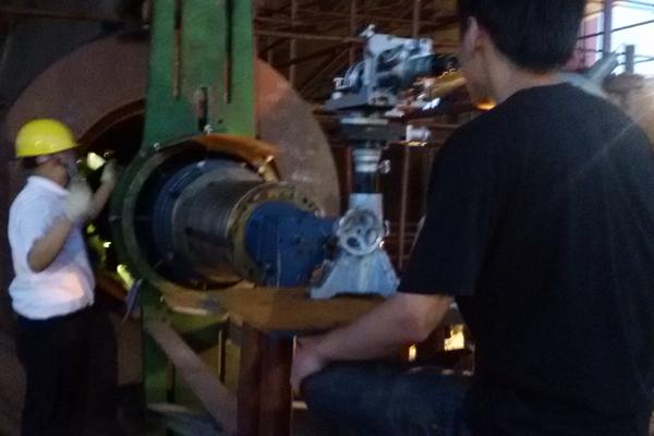 船厂的尾轴检测方案设计