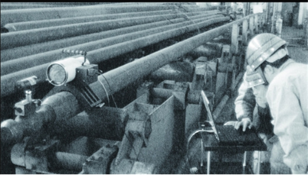 钢管的直线度检测